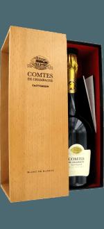CHAMPAGNE TAITTINGER COMTES DE CHAMPAGNE 2006 - BLANC DE BLANCS - GIFT BOX