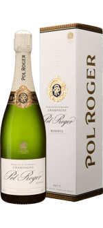 CHAMPAGNE POL ROGER BRUT RESERVE IN GIFT BOX