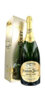 CHAMPAGNE PERRIER JOUËT - GRAND BRUT - MAGNUM - IN GIFT PACK