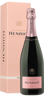CHAMPAGNE HENRIOT - BRUT ROSE - IN GIFT PACK