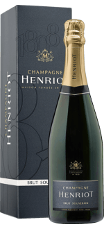 CHAMPAGNE HENRIOT - BRUT SOUVERAIN - IN GIFT PACK