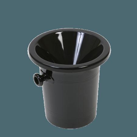 SPITTOON BLACK ACRYLIC - VINOLEM - REF 1116