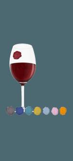 WINE GLASS MARKER - CLASSIC GRAPES - VACUVIN