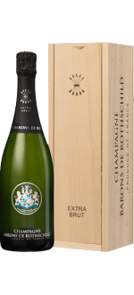 CHAMPAGNE BARONS DE ROTHSCHILD - EXTRA BRUT - WOODEN CASE