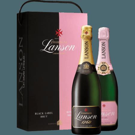 looking for champagne lanson brut rose twin pack online. Black Bedroom Furniture Sets. Home Design Ideas