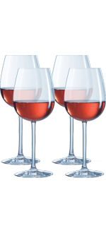 GIFT SET 4 GLASSES 45CL - EXPERT OENOLOGUE - CHEF & SOMMELIER