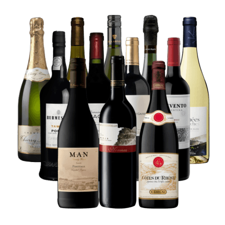 12 WINES OF CHRISTMAS - RED WINE LOVERS - PRE-MIXED WINE CASE