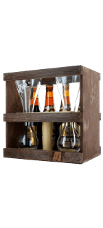 GIFT SET KWAK 4X33CL + 1 DUO GLASS - BOSTEELS BREWERY