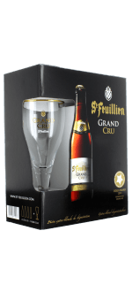 GIFT SET SAINT FEUILLIEN GRAND CRU 4X33CL + 1 GLASS - BREWERY SAINT FEUILLIEN