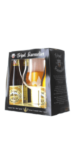 GIFT SET TRIPLE KARMELIET 4X33CL + 1 GLASS - BREWERY BOSTEELS