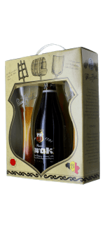 GIFT SET KWAK 1X75CL + 2 GLASSES - BOSTEELS BREWERY