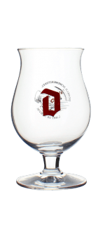 GLASS BALLON DUVEL 33CL - BREWERY DUVEL MOORTGAT
