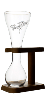 GLASS KWAK + SUPPORT 33CL - BREWERY BOSTEELS
