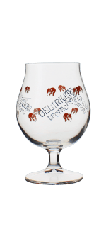 GLASS DELIRIUM 33CL - BREWERY HUYGHE