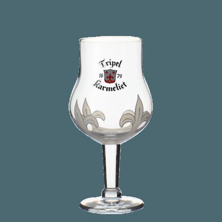 GLASS TRIPLE KARMELIET 30CL - BREWERY BOSTEELS