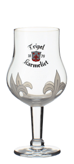 GLASS TRIPLE KARMELIET 25CL - BRASSERIE BOSTEELS