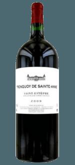 MAGNUM TRONQUOY DE SAINTE- ANNE 2009- SECOND WINE OF CHATEAU TRONQUOY LALANDE