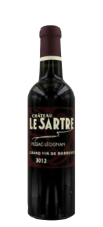 DEMI-BOTTLE CHATEAU LE SARTRE 2014