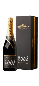 CHAMPAGNE MOET ET CHANDON - GRAND VINTAGE 2008 - IN GIFT PACK