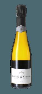 CHAMPAGNE LE BRUN DE NEUVILLE - BRUT CUVEE CHARDONNAY - Half bottle