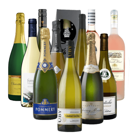 12 WINES OF CHRISTMAS - WHITE WINE LOVERS - PRE-MIXED WINE CASE