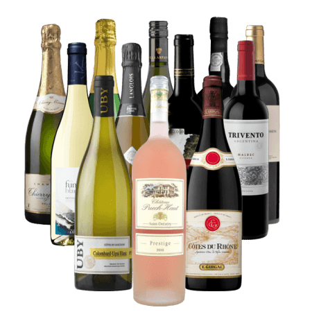 12 WINES OF CHRISTMAS - PRE-MIXED WINE CASE