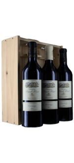 3 BOTTLES PRESTIGE - CHATEAU PUECH HAUT - IN WOODEN CASE