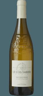 VACQUEYRAS BLANC 2016 - DOMAINE LE COLOMBIER