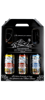 BEER TRIO GIFT BOX BY MONT 75CL -BLANC BREWERY