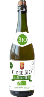 ORGANIC MEDIUM DRY CIDER 1/2 TRADITION - CIDRE FOURNIER