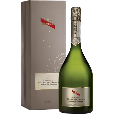 CHAMPAGNE MUMM BLANC DE NOIRS - IN GIFT PACK