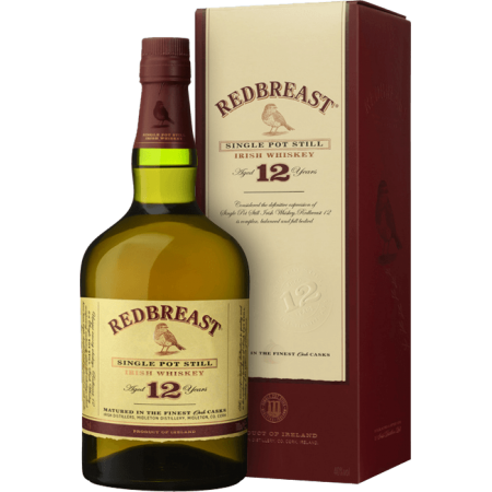 REDBREAST 12 YEAR OLD SINGLE POT STILL - IN GIFT CASE