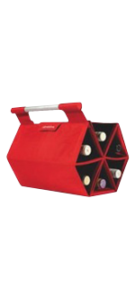 RED ZEBAG - BOTTLE CARRIER BAG
