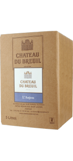 BOXED WINE - BIB - - CHATEAU DU BREUIL - ANJOU ROUGE 2015