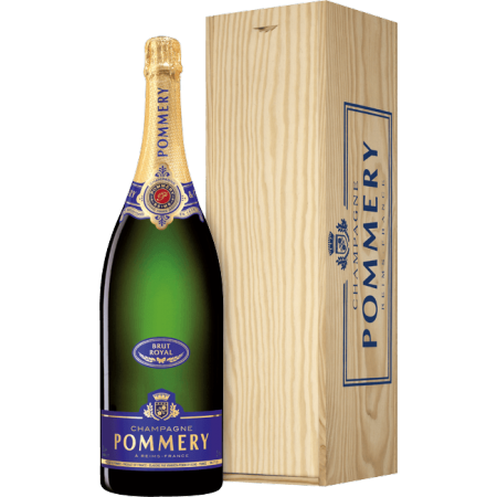 buy online jeroboam brut royal champagne pommery. Black Bedroom Furniture Sets. Home Design Ideas