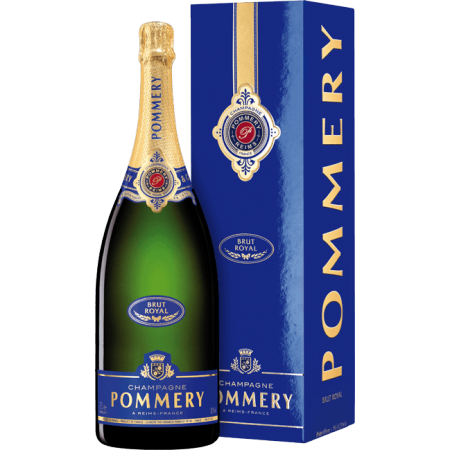 CHAMPAGNE POMMERY - BRUT ROYAL - MAGNUM - IN GIFT PACK