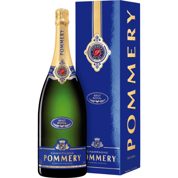 buy online champagner pommery brut royal magnum. Black Bedroom Furniture Sets. Home Design Ideas