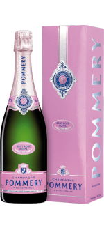 CHAMPAGNE POMMERY - BRUT ROSE - IN GIFT PACK