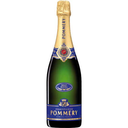 order online champagne pommery brut royal with giftpack. Black Bedroom Furniture Sets. Home Design Ideas