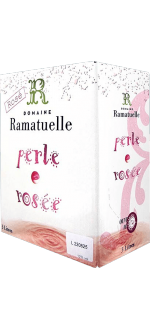 BOXED WINE - 3L - PERLE ROSE BY ESTATE RAMATUELLE - ROSE