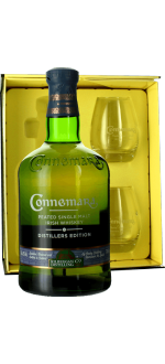 GIFT BOX CONNEMARA DISTILLER'S EDITION + 2 GLASSES