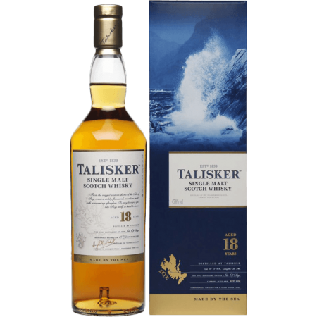 TALISKER 18 YEARS OLD - IN GIFT BOX