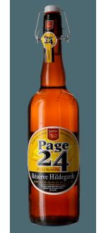 PAGE 24 RESERVE HILDEGARDE BLONDE 75CL - BREWERY SAINT GERMAIN
