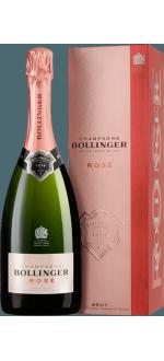 CHAMPAGNE BOLLINGER - BRUT ROSE - IN GIFT PACK