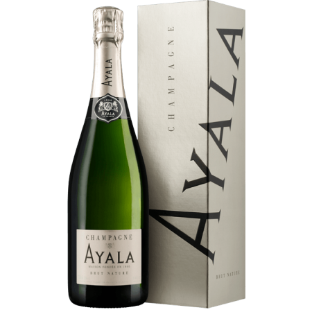 CHAMPAGNE AYALA - BRUT NATURE - IN PRESENTATION CASE