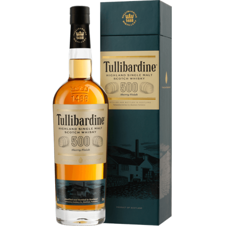 500 SHERRY - TULLIBARDINE - IN PRESENTATION CASE