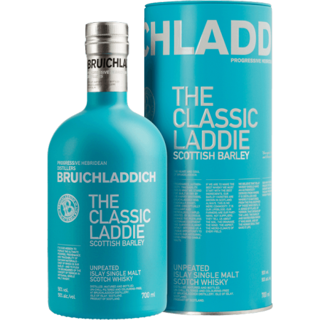 BRUICHLADDICH - CLASSIC LADDIE SCOTTISH BARLEY - IN PRESENTATION CASE
