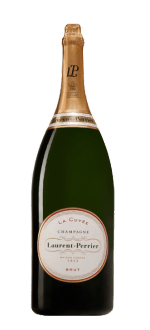 CHAMPAGNE LAURENT PERRIER - LA CUVEE - BALTHAZAR - WOODEN CASE