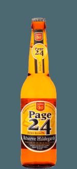 PAGE 24 RESERVE HILDEGARDE BLONDE 33CL - BREWERY SAINT GERMAIN