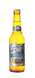 BLANCHE DU MONT-BLANC 33CL - BREWERY DU MONT-BLANC - WHEAT BEER
